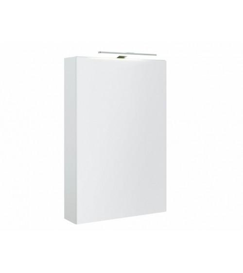 Garda peilikaappi Led valolla, kiiltävä valkoinen
